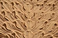 Sculptural Indian architecture detail