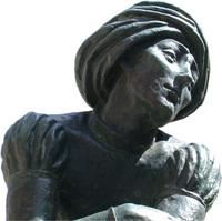 Statue in Krakau