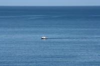 Big sea, small boat
