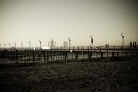 faded pier