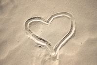 Sand heart 1