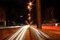 Barcelona Street at Night