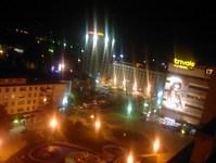 Romania_Pitesti_downtown_night