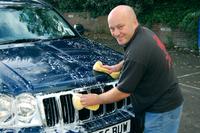 Hand Washing Car