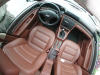 Audi A4 interior wide angle