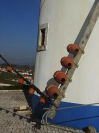 Portugal Windmill Closeup