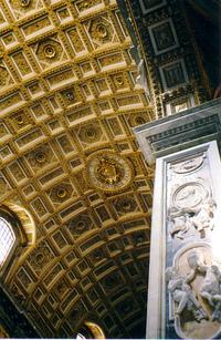 ceiling of Saint Peter's Basil