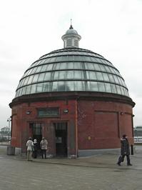 Greenwich Foot Tunnel Entrance