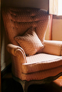 Chair by the window