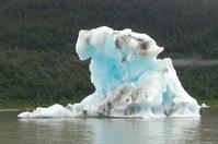 Ice floes near Mendenhall Glacier, Alaska
