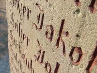 memorial close-up
