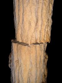 Column in the Modric cave