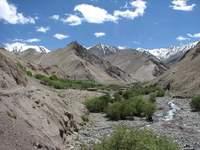 Himalayas mountains in Ladakh, India 1