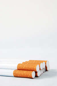 cigarette sticks