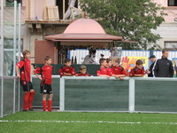 Young footballers in Bratislava city 3
