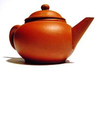pottery kettle