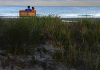 Beach Couple at Dusk