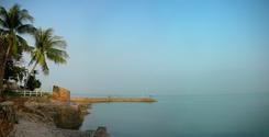Morning at Pattaya beach