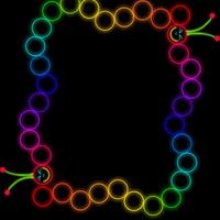 Glow worm frame