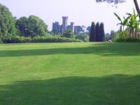 Park and castle