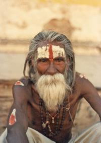 Portrait of sadhu