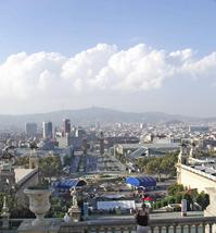 Barcelona Seen From Montjuic