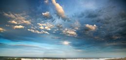 Magic hour sky