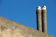 Double chimney