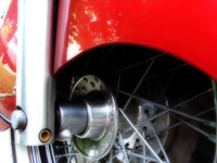 motorcycle wheel, soft