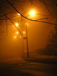 Foggy night 1