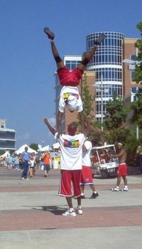 acrobats at festival 1