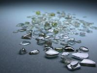 Broken diamonds 2