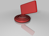 Design element | Spiral with label 1