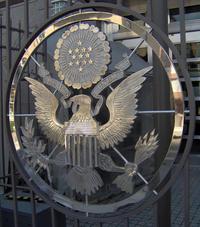 Eagle Logo, US Embassy in Ottawa