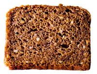Slice of rye bread