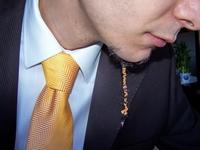 beard and necktie