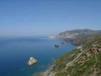 A day of hiking through Fontanamare and Masua