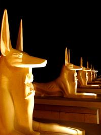 guardian statues