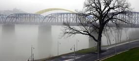 Fog on the Ohio River 2