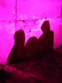 shadow in pink