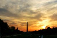 Wash Monument Sunset