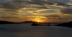 Sunset over the Blasket Islands