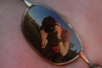 glasses reflection