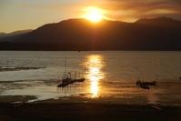 Sunset over Big Bear Lake 1