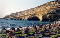 Beach of Matala Creta