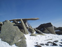 Cantilever Stone on Glyder Fach