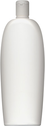 White Shampoo Bottle