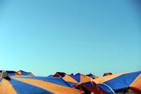 Beach umbrellas at Maspalomas