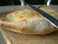 pita bread and knife 4