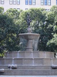 Pulitzer Fountain, Plaza Hotel, New York City 2